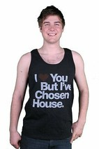 I Love You But I've Chosen House Music Black Tank Top