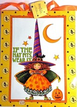 """Mary Engelbreit """"If the Hat Wears It"""" 2  Medium Gift Bags - $5.95"""