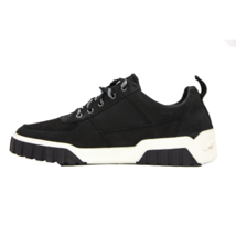 DIESEL S-Rua LC Mens Low-Top Fashion Sneaker Black Suede Size 10.5 New A... - $94.99