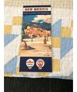 Vintage CHEVRON Supreme Gasoline RPM Oil NEW MEXICO Touring Road Map - $9.90