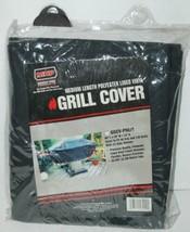 MHP GGCVPREM Medium Length Polyester Lined Vinyl Grill Cover Color Black image 1