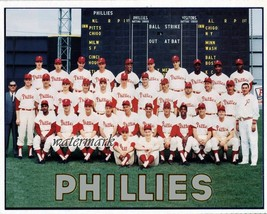 MLB 1964 Philadelphia Phillies Team Picture Color 8 x 10 Photo Picture - $5.99