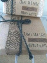 (2) Caramel Scented Craft Bar Soap - New in the Package image 2