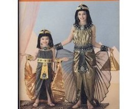 Simplicity 2329 Girls 3 to 6 Egyptian Cleopatra Costume Sewing Pattern - $9.95