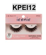 I ENVY BY ICONIC COLLECTION 3D ANGLE & VOLUME EYELASHES # KPEI12 NATURAL... - $3.75