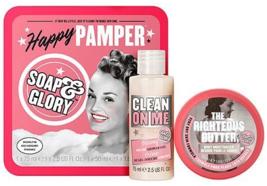 Soap & Glory Happy Pamper Gift Set Original Pink Rose & Bergamot by Soap... - $24.99