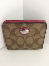 Coach Peyton Multi-Stripe Small Wallet F52155 - $53.14