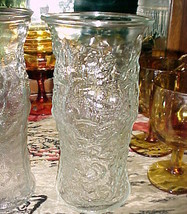 E O Brody Co. Lido Milano Pattern/Style Clear Glass Vase 9½x4¾ For Tall Fl - $19.99