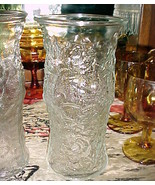 E O Brody Co. LIDO MILANO PATTERN/STYLE CLEAR Glass VASE-9½x4¾-FOR TALL FL - $15.99