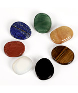 jeaxi 7 pieces/lot Natural and mineral Palm 28x24x7 stone - $19.95