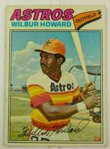 Topps Baseball Card Wilbur Howard Houston Astros #248 1977 Vintage  - $9.00