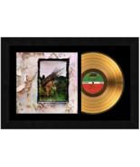 """Fourth Album"" by Led Zeppelin 17 x 26 Framed 24kt Gold Album with Album... - $198.95"