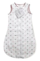 SwaddleDesigns Microfleece Sleeping Sack with 2-Way Zipper, Pastel Pink ... - $26.49