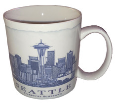 STARBUCKS 2006 SEATTLE CITY MUG, 18 oz. CUP,  HOMETOWN  AMAZING - $14.85