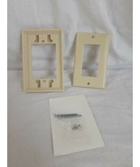 NEW - Pass & Seymour 1591-API RV Outlet Extender and Cover - Ivory - $7.50