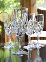 "WATERFORD MARQUIS ""BROOKSIDE"" CRYSTAL ICED BEVERAGE SET OF 4 MADE IN GER... - $119.75"