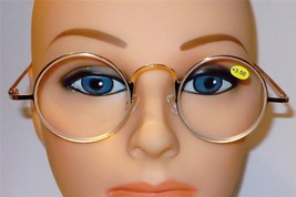 L@@K NEW STYLE 2017 VINTAGE ROUND READERS OLD I... - $10.00