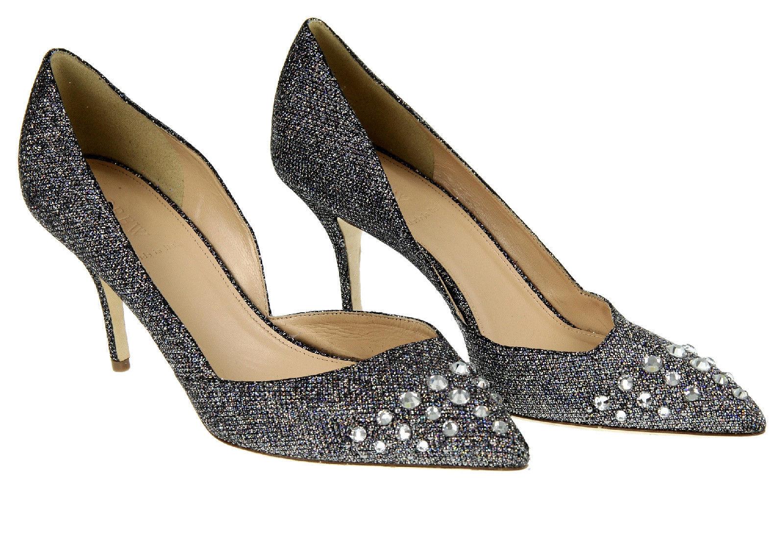 0be432bd5c8 S l1600. S l1600. Previous. J Crew Collection Colette Jeweled Glitter Pumps  9.5 E4601 Womens Shoes Heels