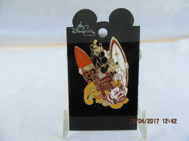 DCA  2001 - PARADISE PIER SURFBOARDS (FAB 4) PIN - $16.00