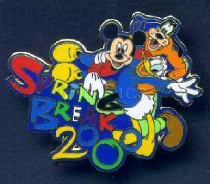 Disney  Spring Break Mickey, Goofy & Donald  pin/pins