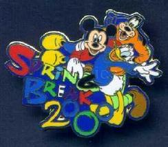 Disney  Spring Break Mickey, Goofy & Donald  pin/pins - $14.99