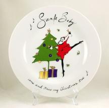 Pottery barn santa baby plate 6 thumb200