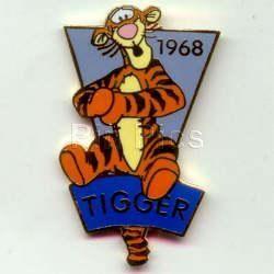 Disney Tigger Character full body dated 1968 pin/pins