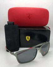 Polarisiert Oakley Sonnenbrille Scuderia Ferrari Tincan OO4082-09 Schwarz Chrom image 3