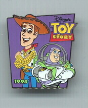 Disney Toy Story 1 Buzz & Woody dated 1995 Rare pin/pin - $15.47