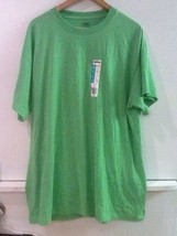Adult solid Kiwi green tee t-shirt unisex Adult XL Extra Large NWT New - $8.95