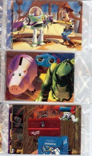 Disney Toy Story 3 sealed packs trading card Collection