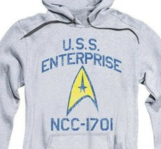 Star Trek Space U.S.S Enterprise NCC-1701 Retro Sci-Fi graphic hoodie CBS1509 image 2