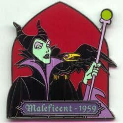Disney Villain Sleeping Beauty Maleficent  Pin/Pins