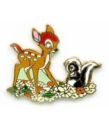 Disney WDCC Bambi and Flower pin/pins - $19.34