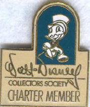 Disney WDCC Charter Member Jiminy Cricket Pin/pins - $29.99