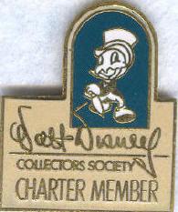 Disney WDCC Charter Member Jiminy Cricket Pin/pins