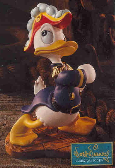 Disney WDCC Donald Duck as Admiral Duck Promotional Print