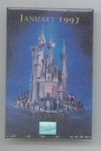 Disney WDCC Enchanted Castle dated 1997 event button Pin/Pins - $9.89