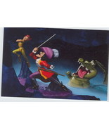 Disney WDCC Peter Pan Capt Hook Crock the Duel Promotional Print - $7.76