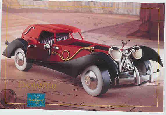 Disney WDCC Villain Cruella de Vil car Promotional print