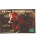 Disney WDCC Villain Shere Kan Tiger Promotional Print - $7.76