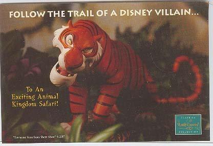 Disney WDCC Villain Shere Kan Tiger Promotional Print