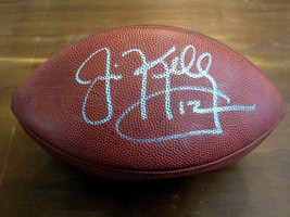 JIM KELLY BILLS HOF SUPERBOWL XXXI SIGNED AUTO SB WILSON DUKE FOOTBALL JSA  - $346.49