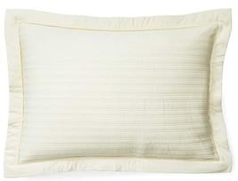 """$130 RALPH LAUREN HOME Reed Hollywood Cream Standard Pillow Sham 20""""x 28... - $99.97"""
