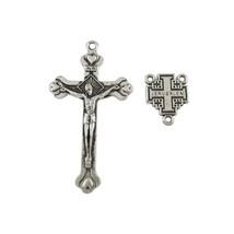 100 Sets of Alloy Jerusalem Crucifix Cross Cent... - $37.10