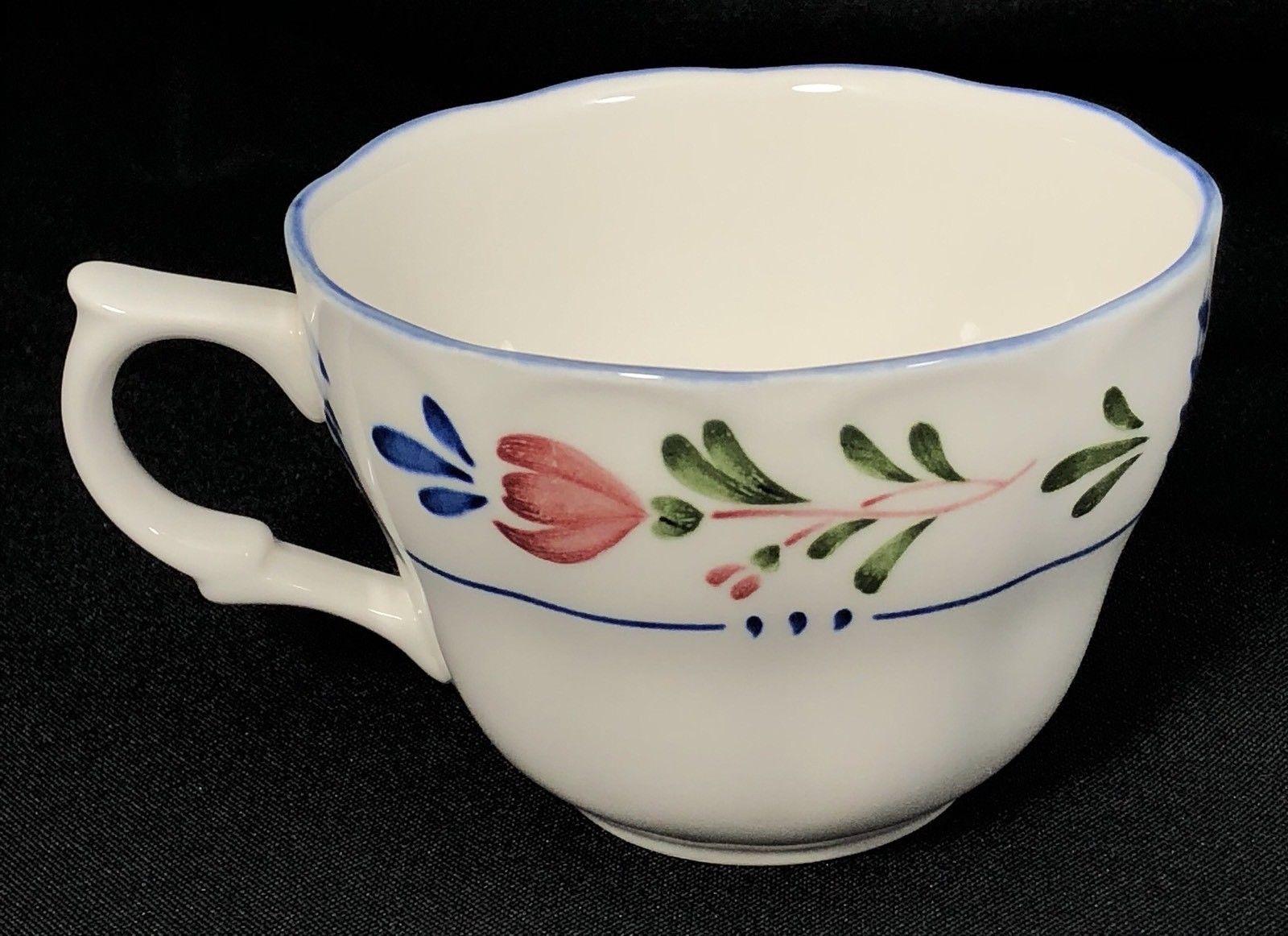 Nikko Provincial Designs Avondale Tea Cup and Saucer Floral Japan