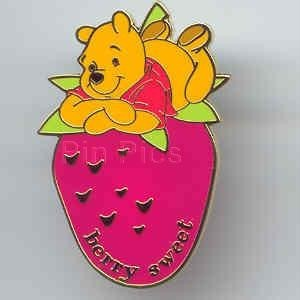 Disney WDW - Berry Sweet Winnie the Pooh Scented pin/pins