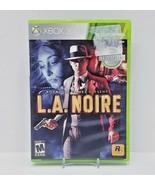 Rockstar Games Presents LA Noire (Xbox 360, 2011) Complete 3 Discs  - $9.50