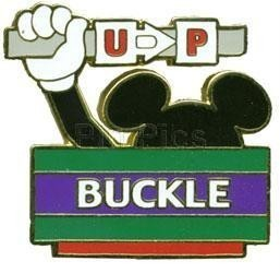 Disney WDW Buckle Up  pin/pins