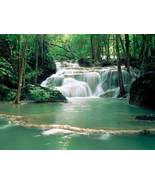 100 Waterfall Scenes Computer JigSaw Puzzles CD - $5.00
